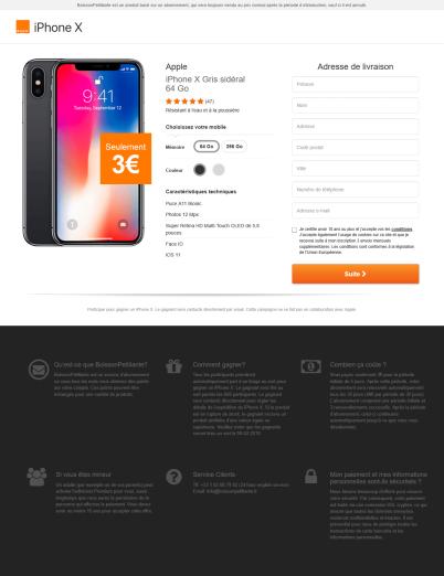 Screenshot-2018-2-9 iPhone X - Seulement 3 €